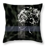 Bewhitched Throw Pillow