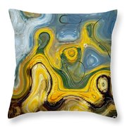 Bewilderment I Throw Pillow