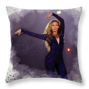 Beyonce #2 Throw Pillow