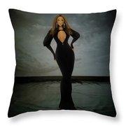 Beyonce - Beautiful Liar  Throw Pillow