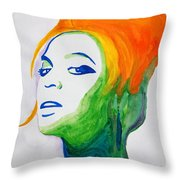 Beyonce Throw Pillow