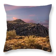 Beyond Inspiration Point Throw Pillow