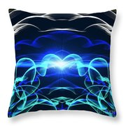 Beyond The Dark Clouds And Storms Throw Pillow