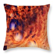 Beyond The Friction  Throw Pillow