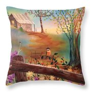 Beyond The Gate Throw Pillow