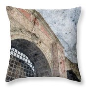 Beyond The Gates Throw Pillow