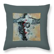 Beyond The Obvious Throw Pillow by Phyllis Howard