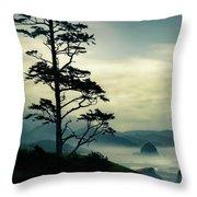Beyond The Overlook Tree Throw Pillow