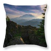 Beyond The Ridge Throw Pillow