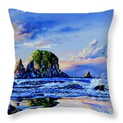 Beyond The Shore Throw Pillow