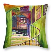 Beyond The Steps Throw Pillow