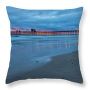 Beyond The Storm Throw Pillow