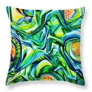 Beyond The Unknown - Right Throw Pillow