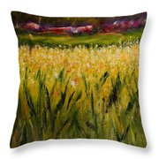 Beyond The Valley Throw Pillow