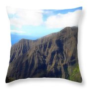 Beyond The Windmills Throw Pillow