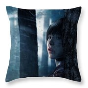 Beyond Two Souls Throw Pillow