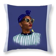 Beyound Throw Pillow