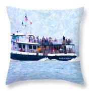 Bhi Ferry Throw Pillow