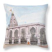 Bhimashankar Jyotirling Throw Pillow