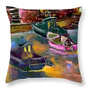 Biarritz 13 Bis Throw Pillow