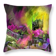 Biarritz 14 Bis Throw Pillow