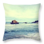 Arcachon Throw Pillow