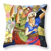 Biblical Story Throw Pillow