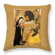 Bicci Di Lorenzo Painting Throw Pillow