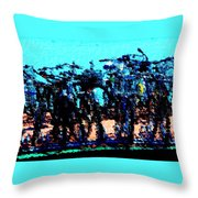 Bicycle Art Throw Pillow