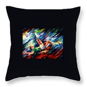 Bicycle Kick Throw Pillow