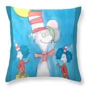 Big 8 Throw Pillow by Tyler Schmeling