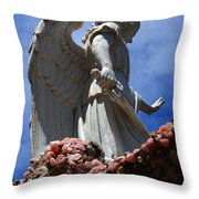 Big Angel Wings Throw Pillow