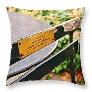 Big Apple Love Throw Pillow