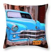 Big Bad Dodge Throw Pillow