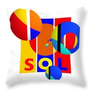 Big Bang Style Throw Pillow