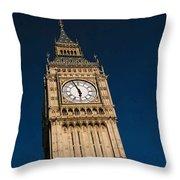 Big Ben, London Throw Pillow