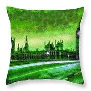 Big Ben London - Da Throw Pillow