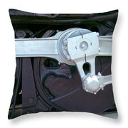 Big Boy Piston Throw Pillow