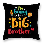 Big Brother Space Theme Light Promotion Throw Pillow