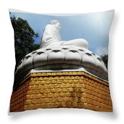Big Buddha 1 Throw Pillow