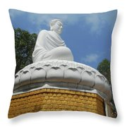 Big Buddha 2 Throw Pillow