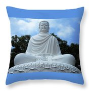 Big Buddha 4 Throw Pillow