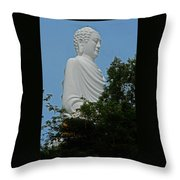 Big Buddha 5 Throw Pillow