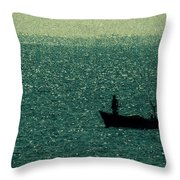 Big Catch Throw Pillow