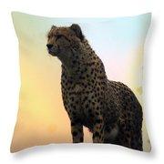 Big Cats 104 Throw Pillow