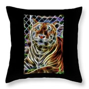 Big Cats  Throw Pillow