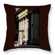 Big City Girls Throw Pillow