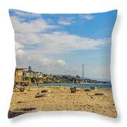 Big Corona Beach Throw Pillow