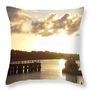 Big Country Light  Throw Pillow