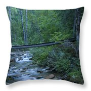 Big Creek Bridge Throw Pillow